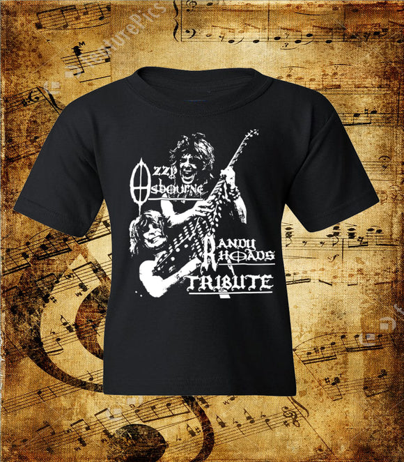 Ozzy Osbourne Randy Rhodes Tribute Youth T-Shirt