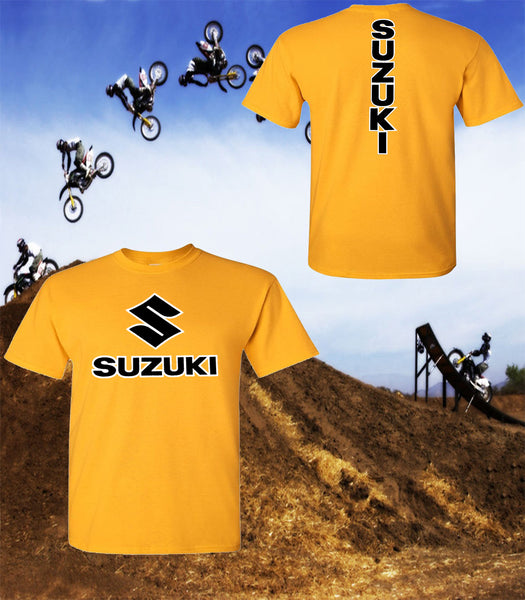 Suzuki Motorcycle T-Shirt - Suzuki Racing Team T-Shirt - Unisex Shirt - Black Print