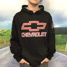 Load image into Gallery viewer, Chevrolet Racing Team -  Hoodie, Pullover - Black