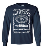 Butter Beer Harry Potter Long Sleeve T-Shirt