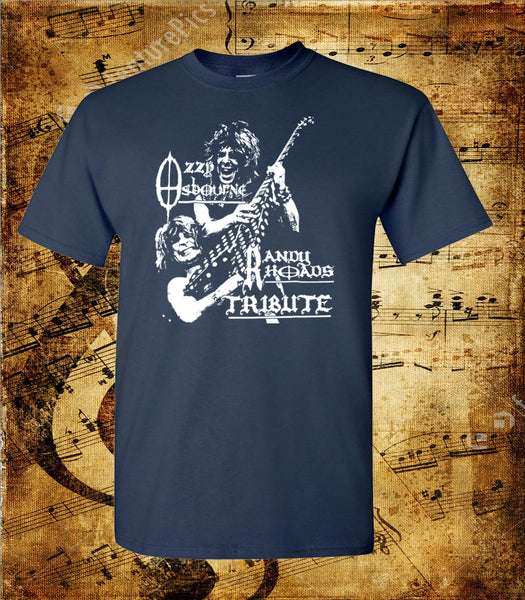 Ozzy Osbourne Randy Rhodes Tribute Short Sleeve T-Shirt
