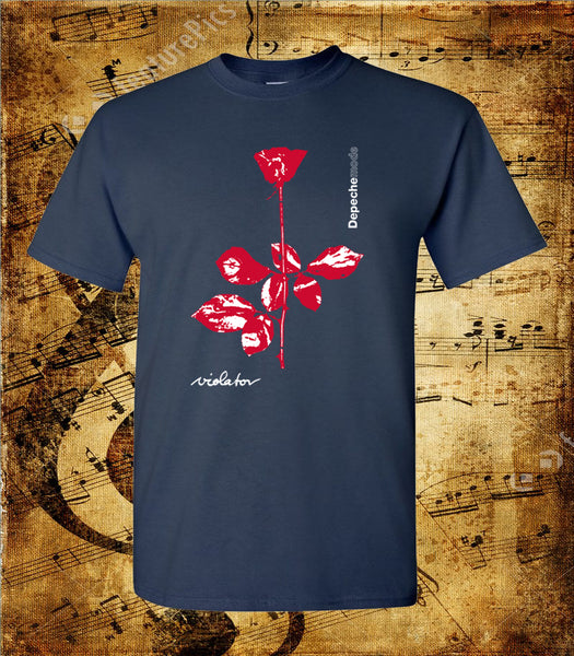 Depeche Mode Flower Logo T-Shirt