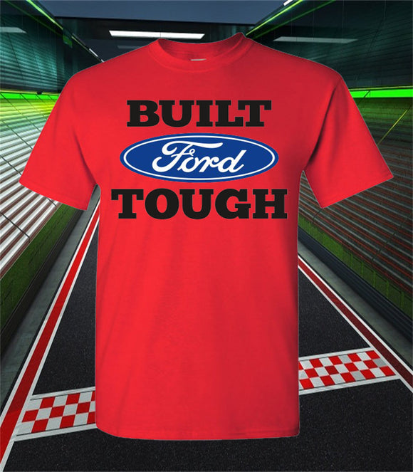 Ford Truck - Ford built Tough sort sleeve t-shirt
