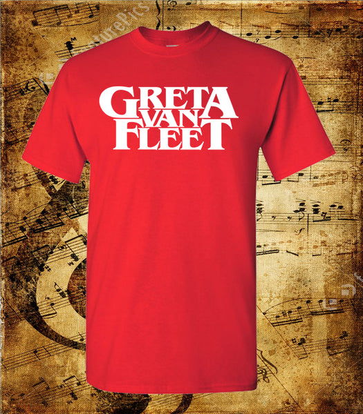 Greta Van Fleet Logo Short Sleeve T-Shirt