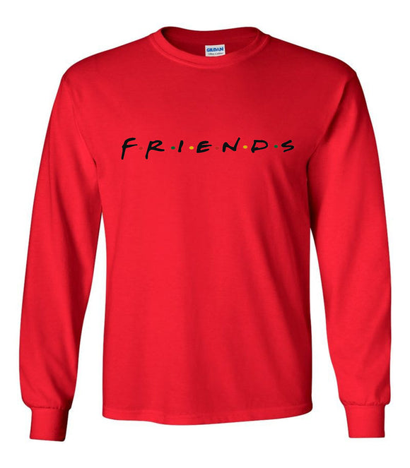Friends TV Show Unisex Long Sleeve T-Shirt