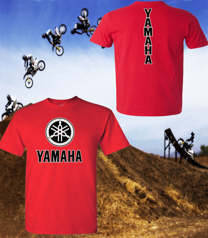 Yamaha Motorcycle T-Shirt - Yamaha Racing Team T-Shirt - Unisex Shirt - Black Print