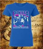 Pantera Cowboys From Hell Whole Band Women's Cut T-Shirt