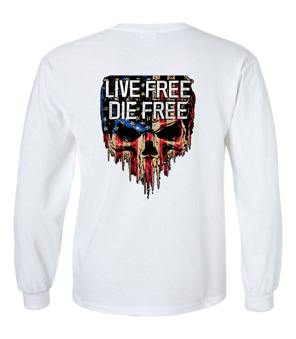 Live Free Die Free - Unisex Long Sleeve T-Shirt