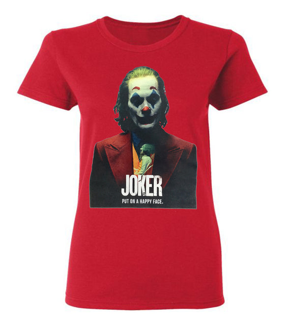 Joker The Movie Women Short Sleeve T-Shirt
