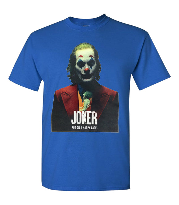 Joker Put On a Happy Face Unisex T-Shirt