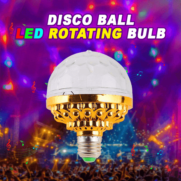 Instant Disco - The portable screw-in disco ball