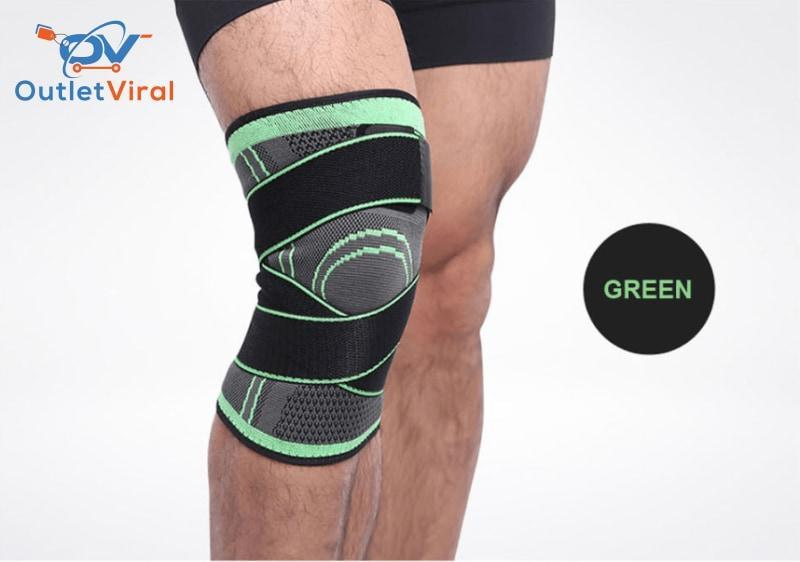 As Seen On Tv - 3D Knee Compression Brace S (12 14) / Green 2 Unit (60%off)
