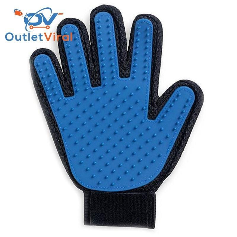 Pet Grooming Deshedding Brush Glove (For Cats/dogs) 1 Right Hand / M