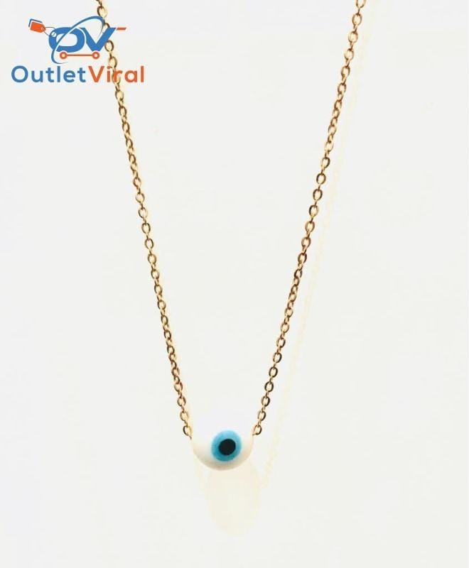 Stainless Steel Eye Necklace