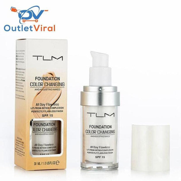 Tlm Color Changing Foundation Face