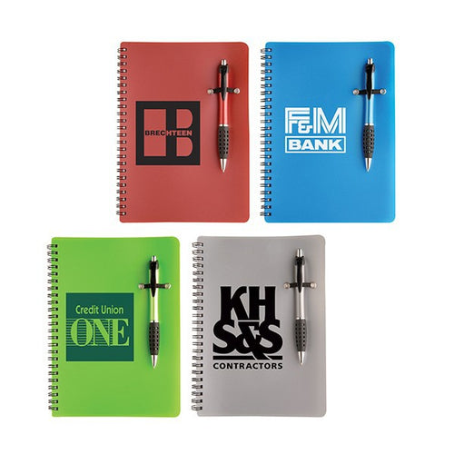 Custom Notebook & Pen
