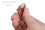how to tie chalk line tip