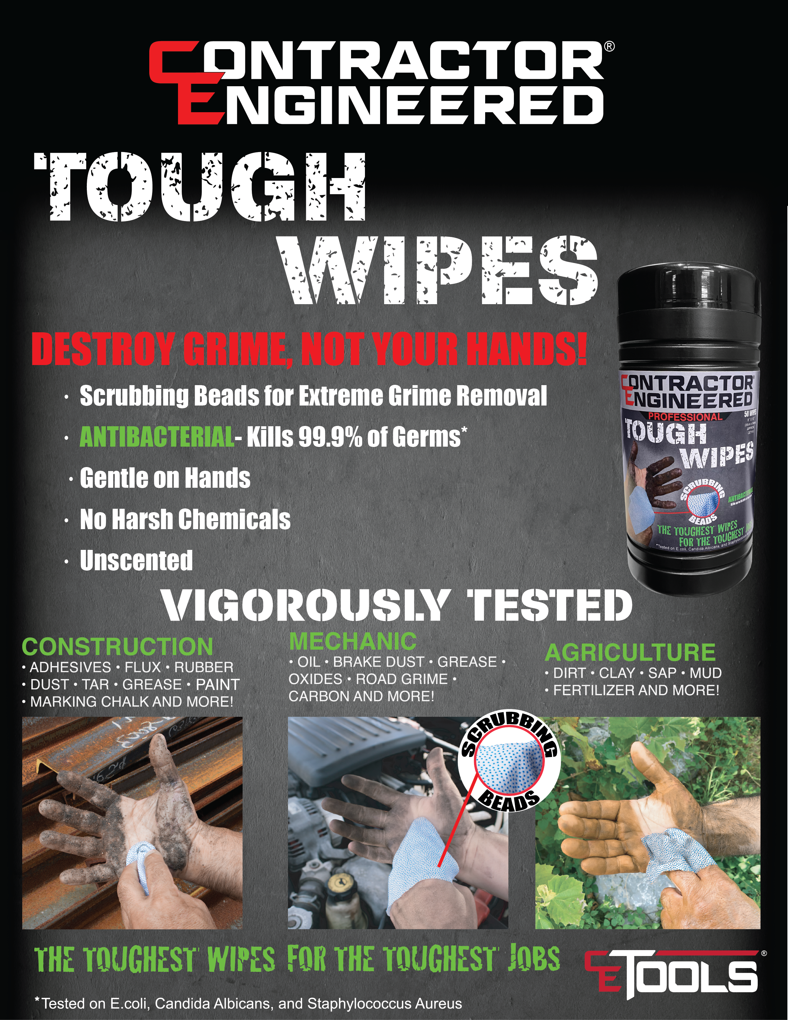 heavy duty wipes
