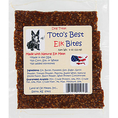 Elk & Chicken Bites ~ U.S.A. Made