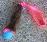 Hairy or Leather Buffalo Bungee with Ball