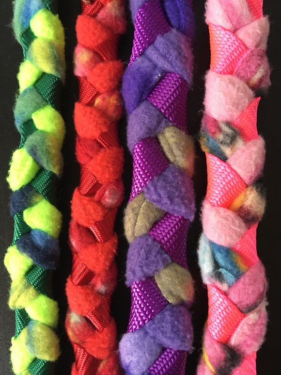 Slip Leashes ~ Braided Fleece & Handmade in the USA