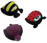 Treat Reward Pouch (like the Lotus)~ Ladybug, Bee & Turtle