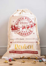 North Pole Express Santa Sack