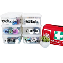 First Aid Labels -Home Label Collection