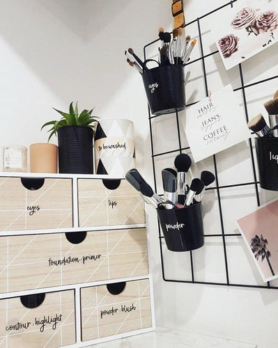Makeup Organisation Labels -Home Label Collection