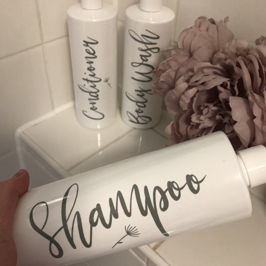 Lola Shampoo Conditioner Body Wash Label -Home Label Collection
