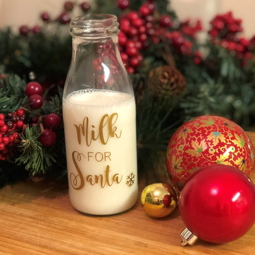'Milk For Santa' Label -Home Label Collection