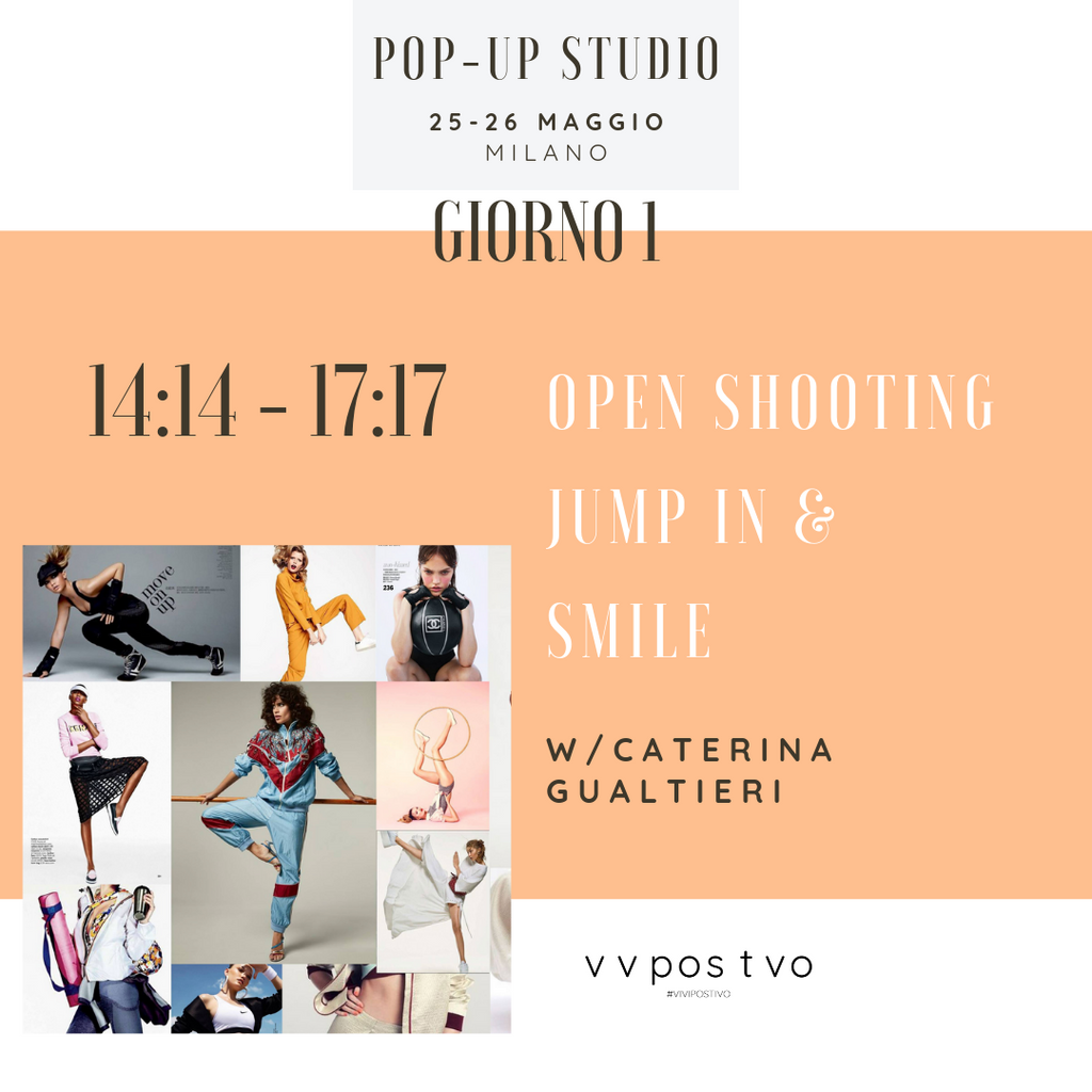 POP-UP Open Shooting w/Caterina Gualtieri