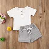 Venice Linen Shirt & Shorts Set