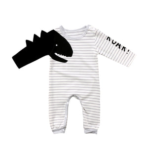 Dino Roar Long Sleeve Jumpsuit