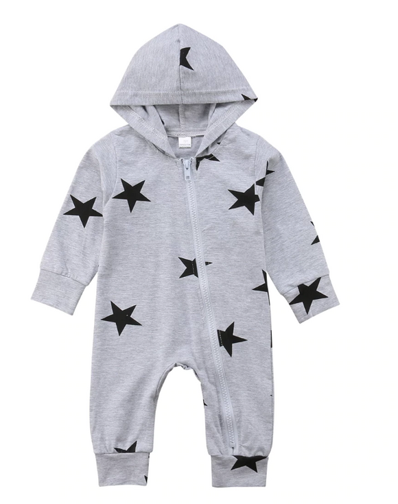Luca Star Hooded Jumpsuit
