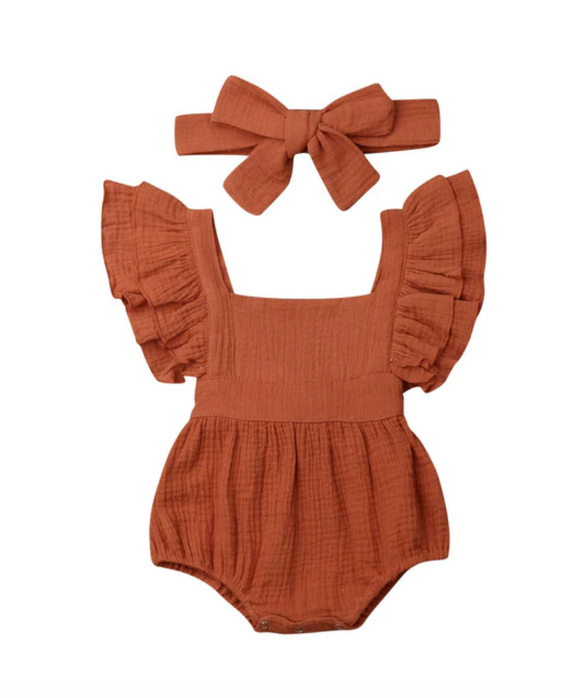 Lilo Romper & Headband Set