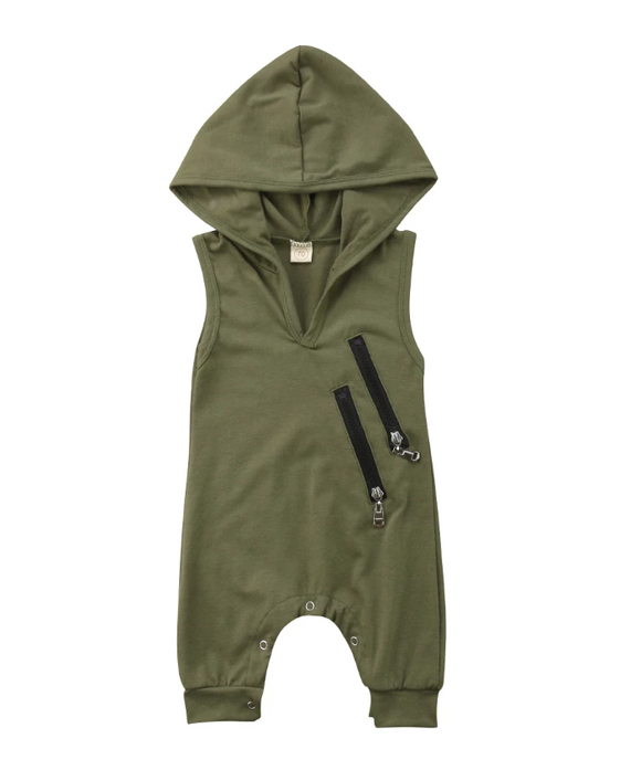 Saint Hooded Jumpsuit