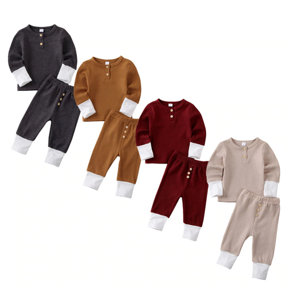 ZUMA LONG SLEEVE BODYSUIT & PANTS SET