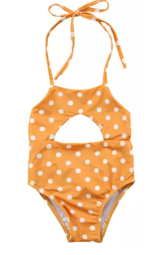 Dot One Piece Swimsuit