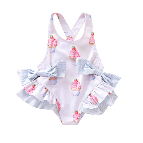 Cupcake  Ruffles One Piece Swimsuit