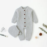 Pure Knitted Jumpsuit Set