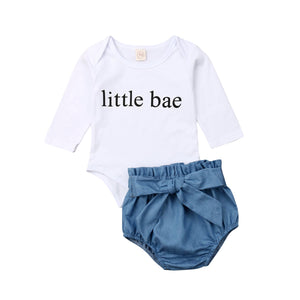 Little Bae Bodysuit & Shorts Set