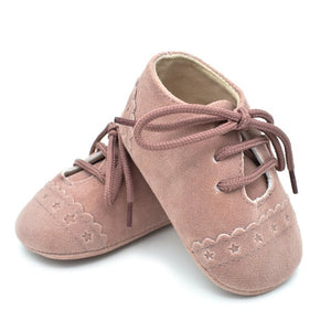Mini Stars Lace Up Baby Shoes