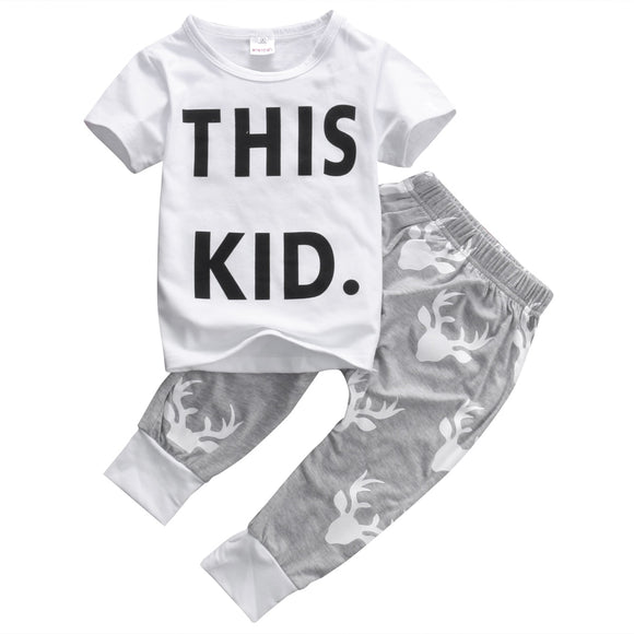 This Kid Top & Pants Set