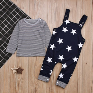Stars & Stripes Jumpsuit Set