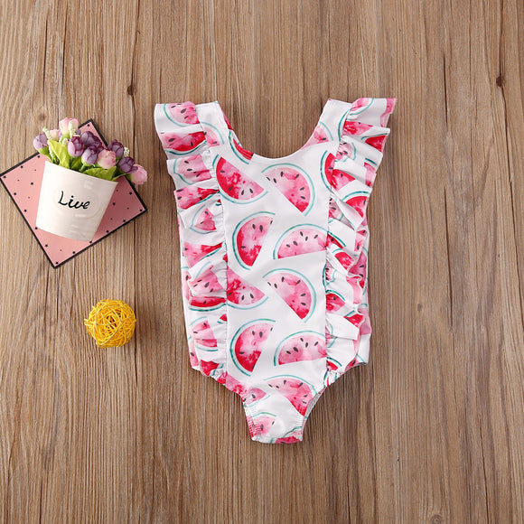 Watermelon One Piece Swimsuit