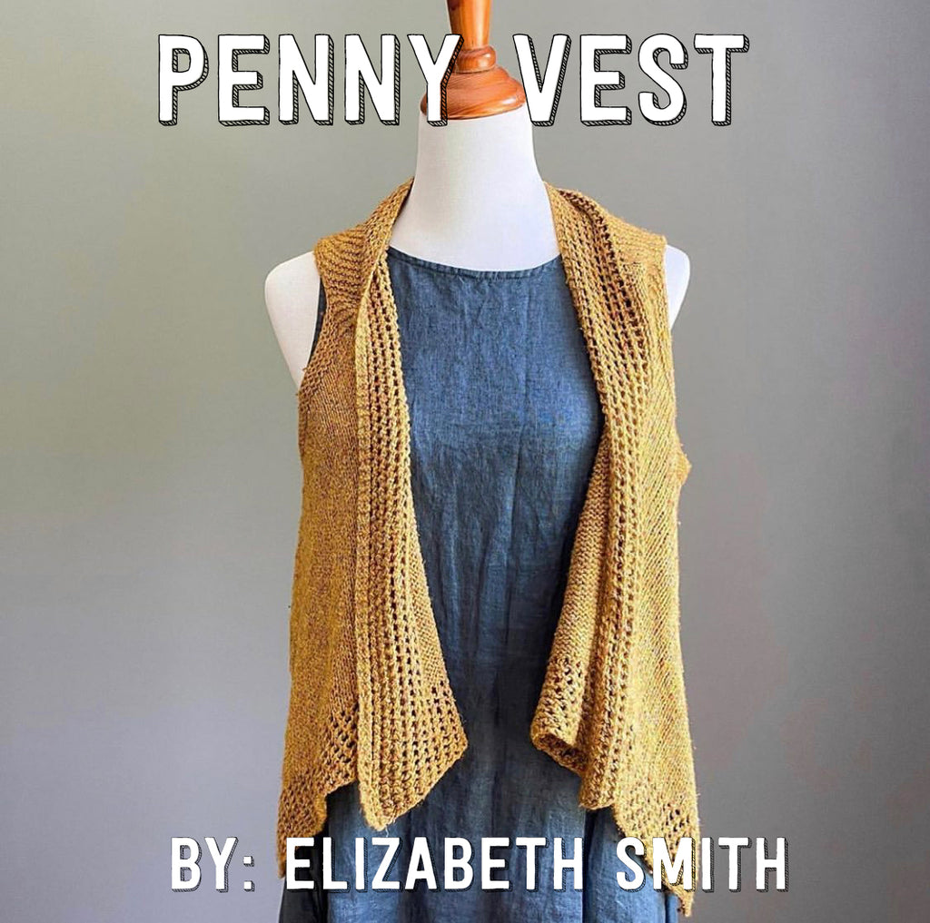 Penny Vest by Elizabeth Smith Knits