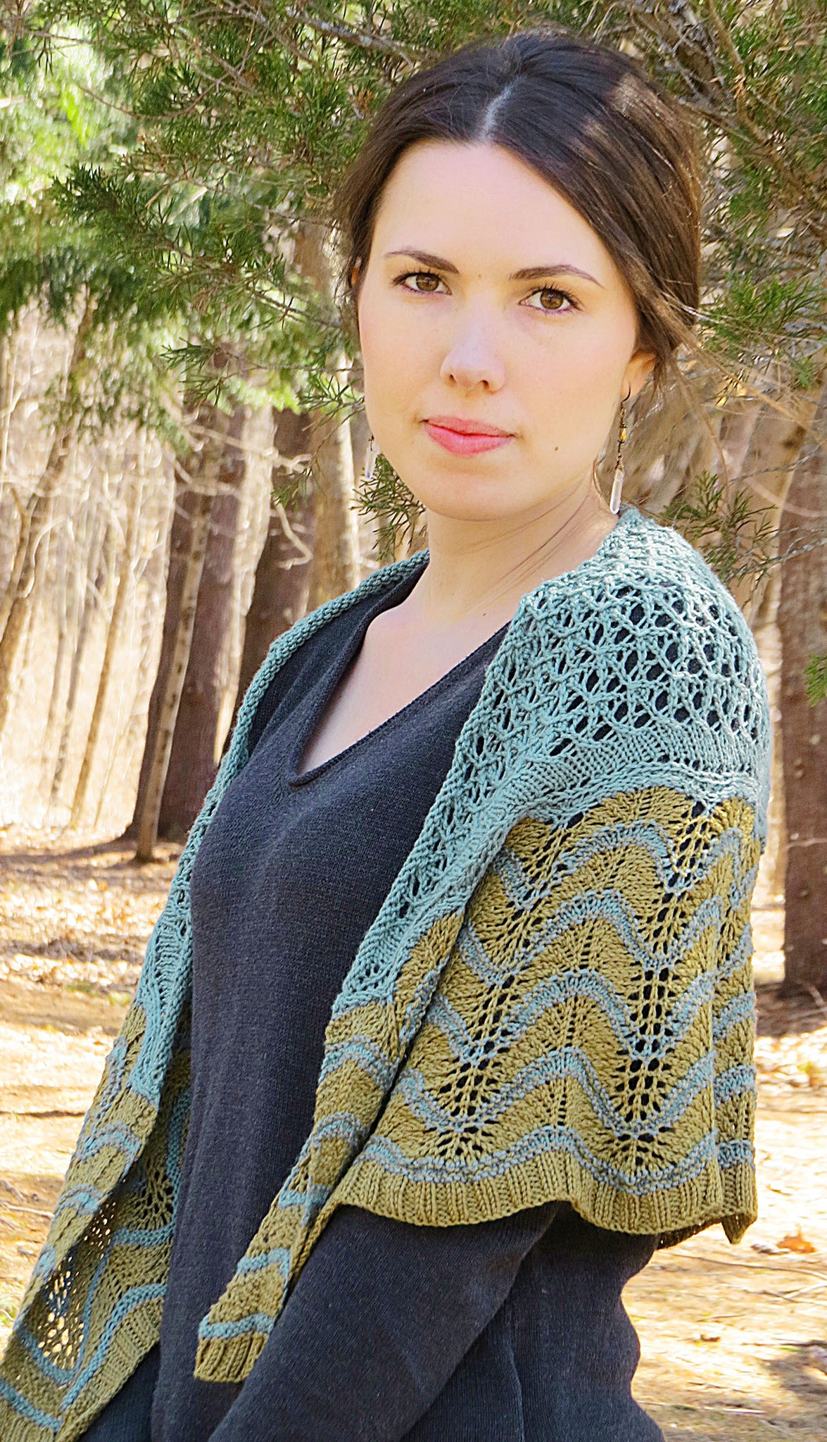Old Shale Shawl #2336