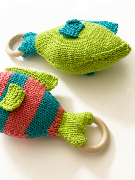 Fish Plush Teether Kit