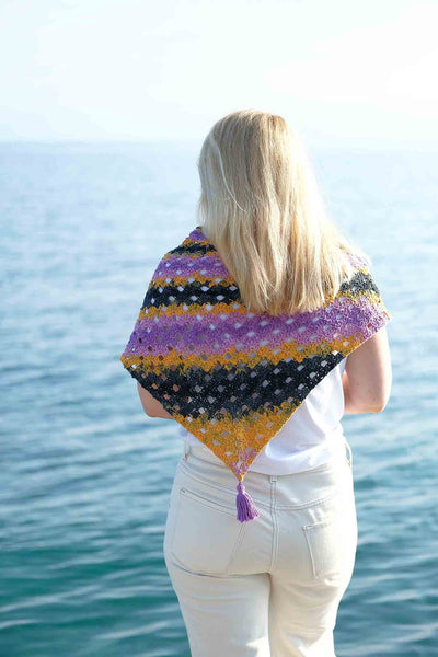 Jola Crochet Shawl Kit